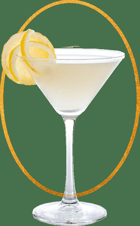 D. George Benham's Spectacularly Palatable Gin Martini