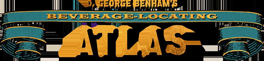 Header image of D. George Benham's Beverage Locating Atlas